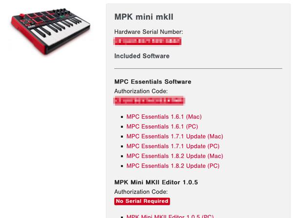 MPK mini mkII